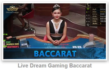 live dream baccarat