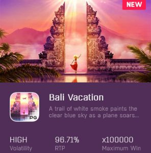 bali vacation pg slot