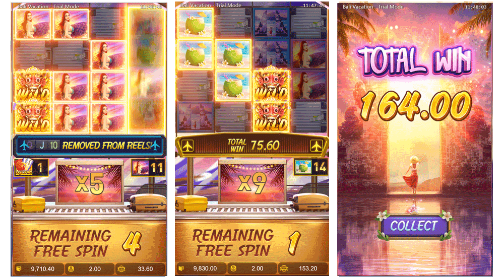 play free spins feature