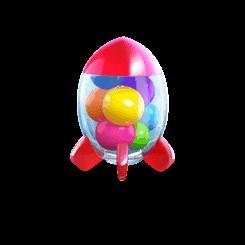 สัญลักษณ์ candy burst 1